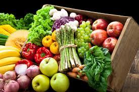 voće i povrće u kašeti